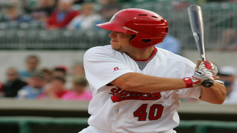 Brian Walker hit a home run and drove in two runs during his last professional game.