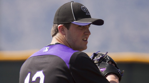 Drew Pomeranz was 0-2 with a 4.70 ERA in five starts with the Rockies.