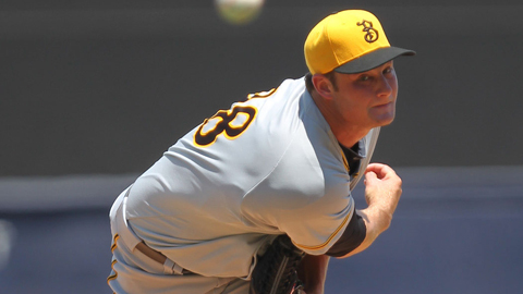 Gerrit Cole ranks 10th in the Florida State League with a 2.60 ERA.