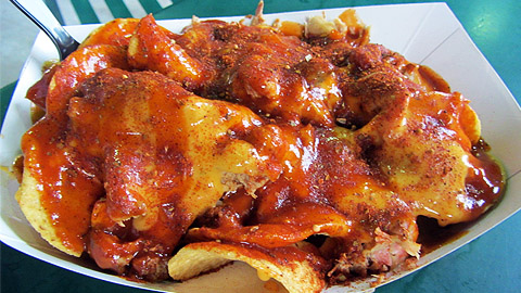 Memphis' signature barbecue nachos have inspired other local restaurants.